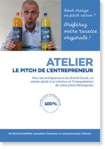 Visuel de couverture de l'atelier pitch de l'entrepreneur