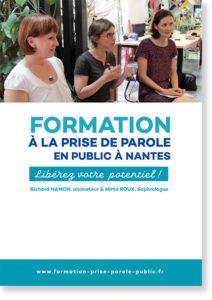 Visuel du programme de formation inter-entreprises à la prise de parole en public